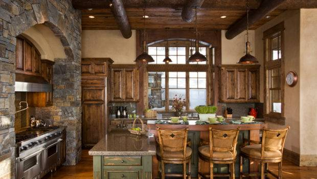 Rustic Cabin Decorating Ideas Kitchen Layout Decor