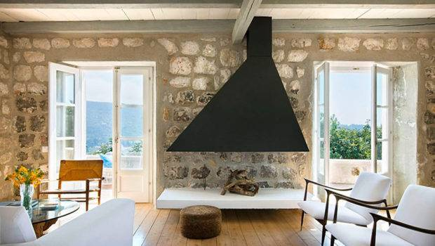 Rustic Country House Croatia Contemporary Elements