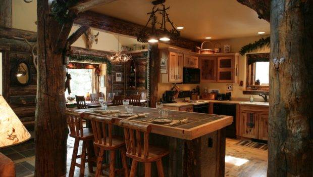 Rustic Country Kitchen Antique Design