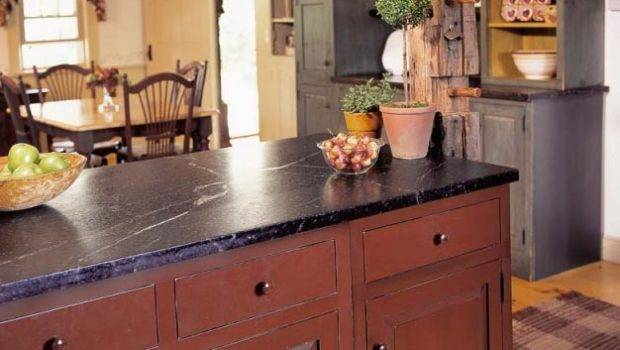 Rustic Country Kitchen Early American Style