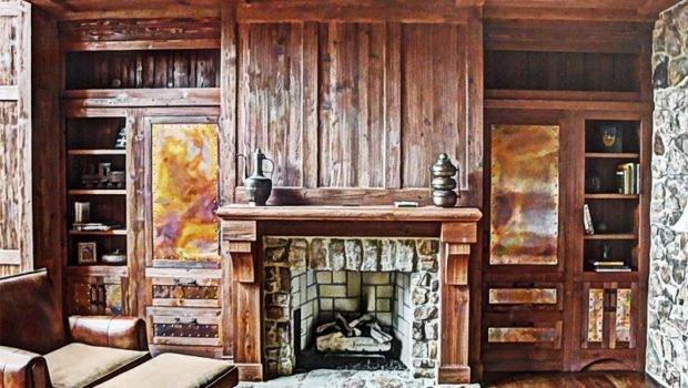 Rustic Fireplace Home Pinterest Fireplaces
