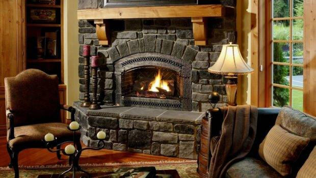 Rustic Fireplace Mantels Screens