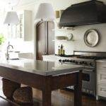 Rustic Kitchen Design Creamy White Cabinets Modern