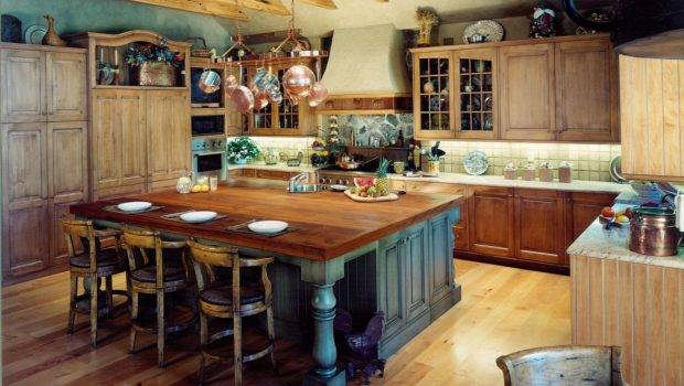 Rustic Kitchen Design Style Onhomes