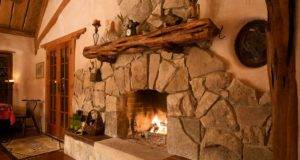 Rustic Stone Fireplace Mantels Cozy Beautiful Fireplaces