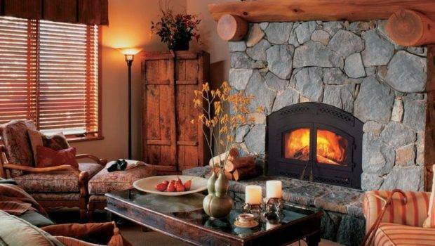 Rustic Stone Fireplaces Designer Fireplace