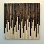 Rustic Wood Wall Art Sculpture Moderntextures