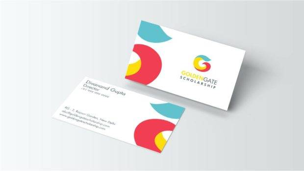 Sample Business Cards Cdr Simple Upscale Vertical