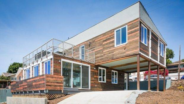 San Diego Modern Home Built Shipping Containers Lists