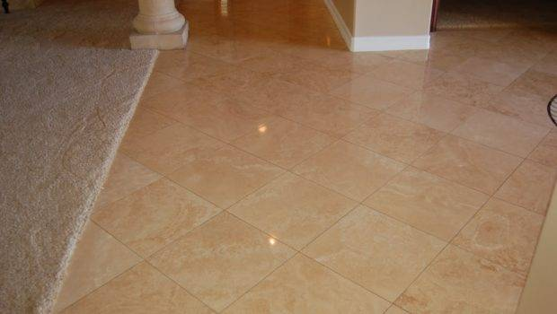 Sanding Travertine Floors