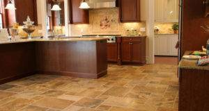 Scabos French Pattern Travertine Tile Floor Coordinating