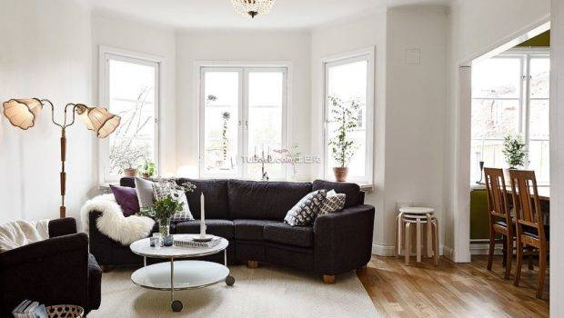 Scandinavian Living Room Decorating Sample