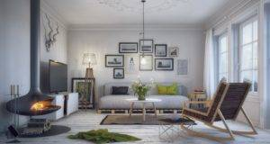 Scandinavian Living Room Ideas Plus