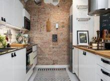 Scandinavian Style Small Apartment Kitchen Renovation White