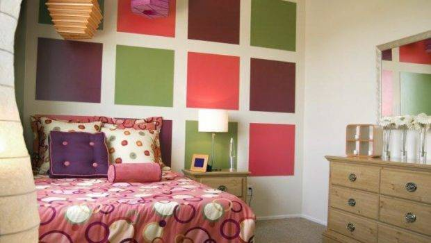 Schemes Painting Ideas Teenage Girls Room Cool