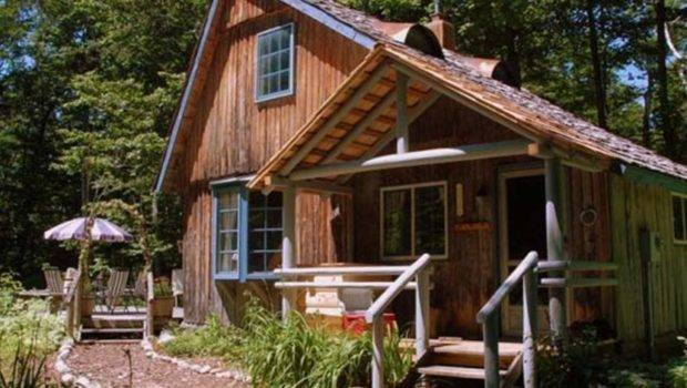 Secluded Log Cabin Woods Vrbo