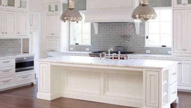 Sectional White Kitchen Cabinets Grey Glaze Combined