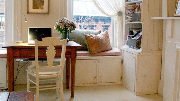 Shabby Chic Office Cottage Style Designer Luis Caicedo