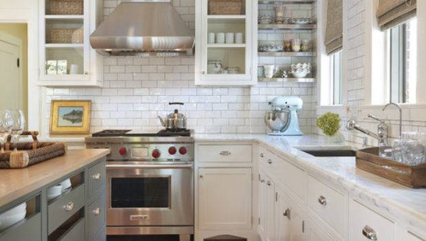 Shades Neutral Gray White Kitchens Choosing