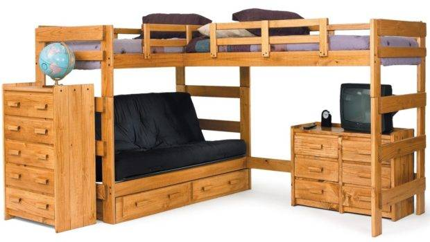 Shape Bunk Design Both Beds Elevated Like Loft Bed