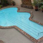 Shape Guitar Stylish Shaped Swimming Pool