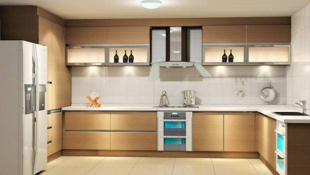 Shape Modular Kitchen