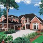 Shaped Cape Cod Style Home