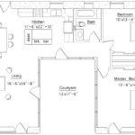 Shaped House Floor Plan Bedroom Plans Home Design