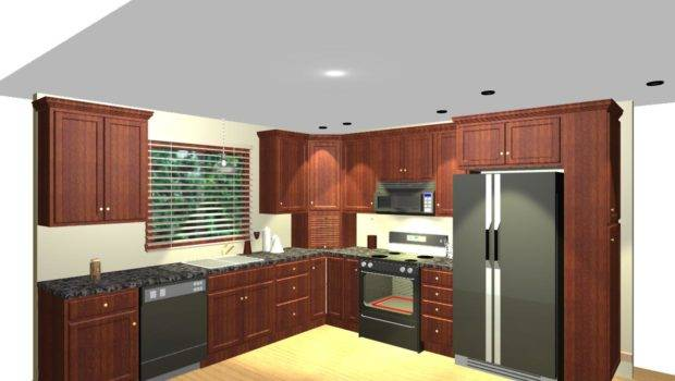 Shaped Kitchen Corner Pantry Decoration Home Ideas