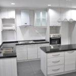 Shaped Kitchen Design Cabinet Malaysia