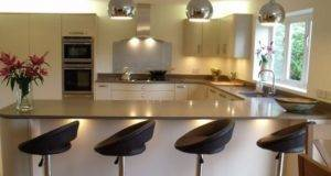 Shaped Kitchen Designs Breakfast Bar