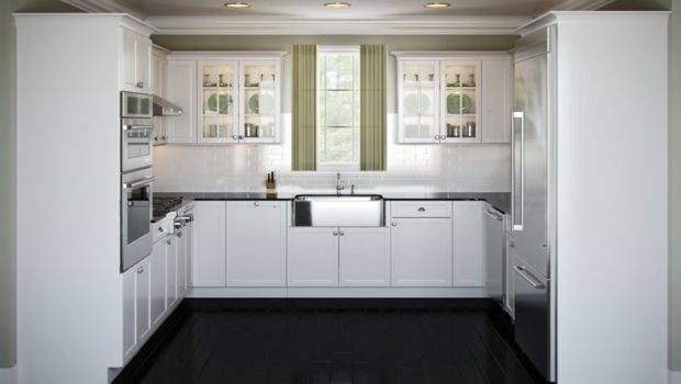 Shaped Kitchen Layouts Editorial Which Classified Within