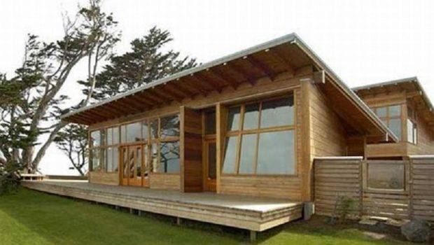 Shaped Modern Rustic Homes Contemporary House Plans