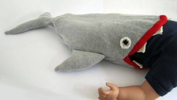 Shark Sleeping Bag Son Joshua Would Have Loved Back