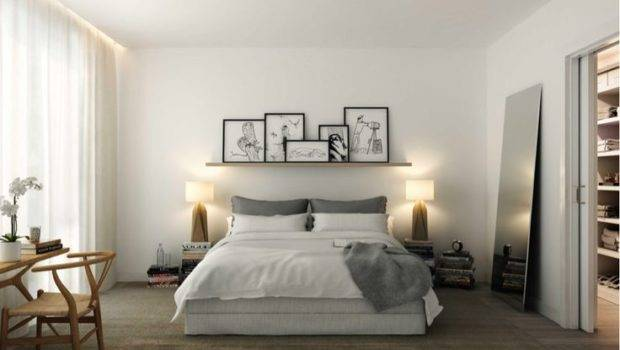 Shelf Above Bed Around Home Pinterest