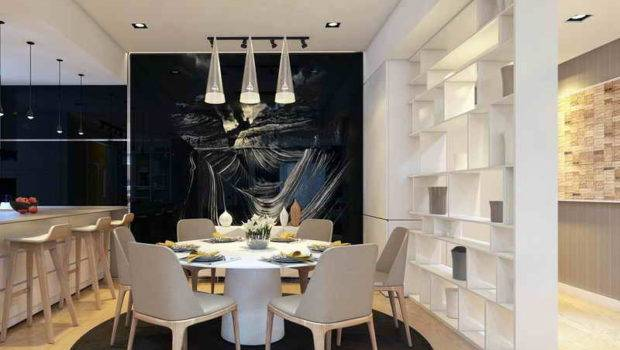 Shelves Dining Room Wall Storage Ideas