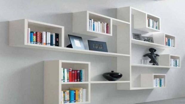 Shelving Traditional White Wall Shelves
