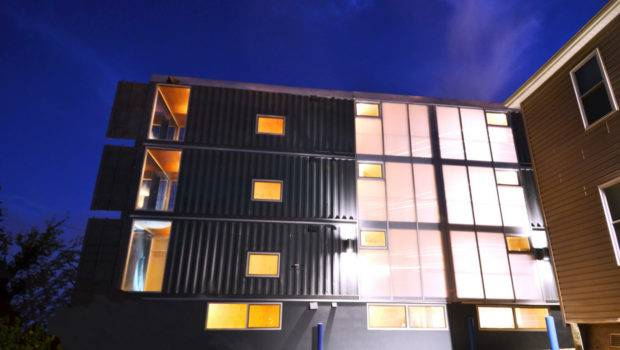Shipping Container Apartment Complex Opens Cbs