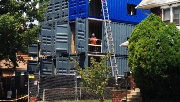 Shipping Container Apartments Cause Stir Brookland