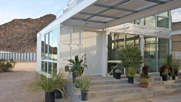 Shipping Container Architecture Modular Steel Home Mojave