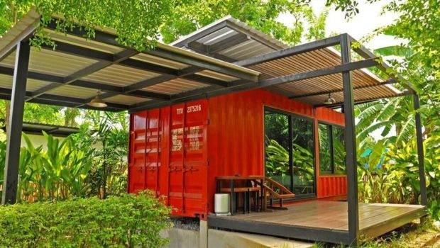Shipping Container Cabin Amazing Inventive