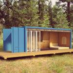 Shipping Container Cabin Bed