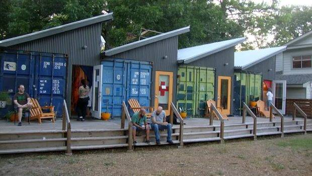 Shipping Container Cabin Community Tiny House Pins