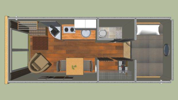 Shipping Container Cabin Sea Homes