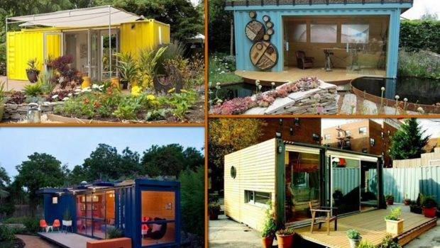 Shipping Container Garden Room Upcycled Press Recycling