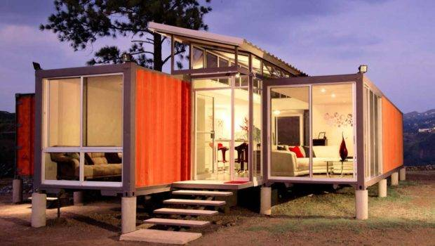 Shipping Container Home Designs Foot