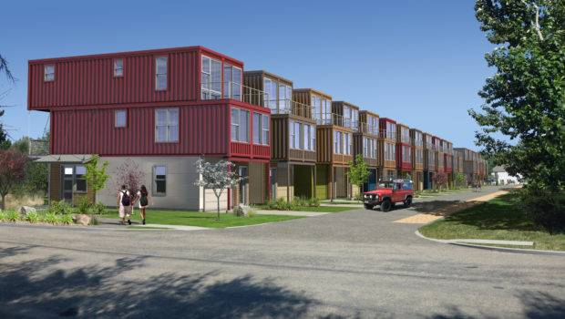 Shipping Container Subdivision Planned Garden City