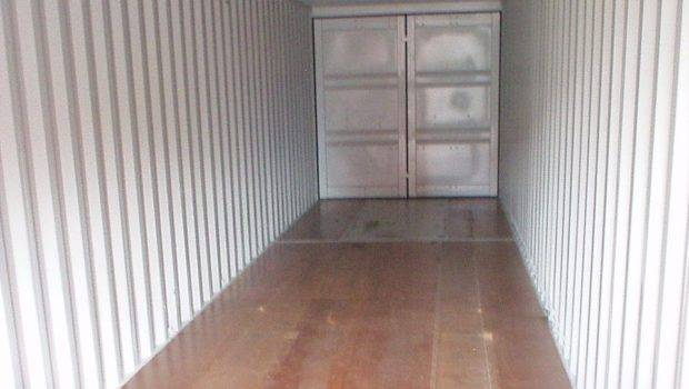 Shipping Containers Housing Inside New Container