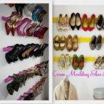 Shoe Organization Creative Closet Ideas Home Designs