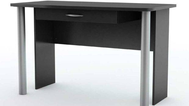Shore City Life Collection Pure Black Modern Office Furniture Desk